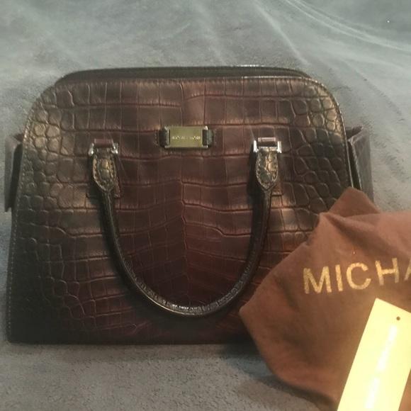 1b20b38918eb Michael Kors Bags | Collection Gia Crocodile Leather Bag | Poshmark
